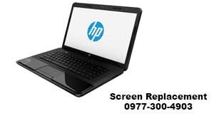 HP Laptop Screen Replacent